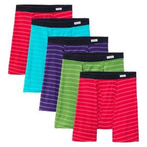 fruit of the loom boxer briefs comfort waistband fruit of the loom select 174 men s 5 pack covered waistband