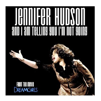 and i am telling you just cd cover jennifer hudson and i am telling you i m