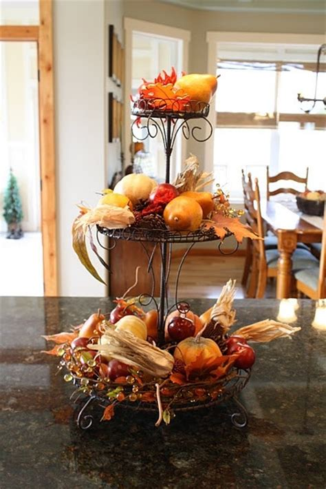 fall kitchen decorating ideas 37 cool fall kitchen d 233 cor ideas digsdigs
