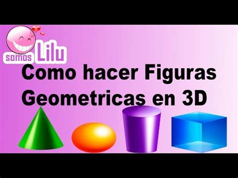 figuras geometricas hechas en cartulina como hacer figuras geometricas en 3d somos lilu youtube