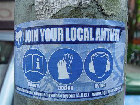 Alerta Antifascista Aufkleber by Support Your Local Antifa 171 Leftstickers Blogsport De