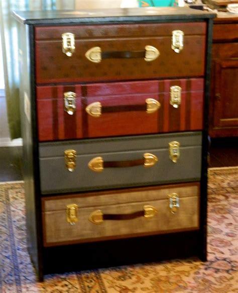 suitcase dresser 99 clever ways to transform a boring dresser suitcase