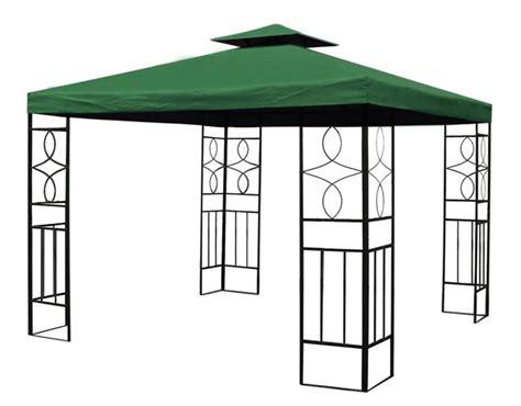 wasserdichter gartenpavillon pavillon romantika metall inkl dach wasserfest
