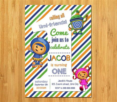 printable umizoomi invitations 71 best images about team umizoomi party on pinterest