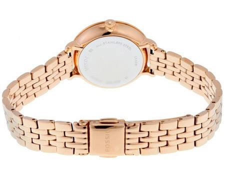 Fossil Es3799 Jacqueline Mini fossil jacqueline for analog stainless steel band