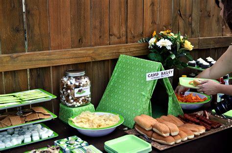Outdoor Bridal Shower Games - werdyab blog camping birthday party