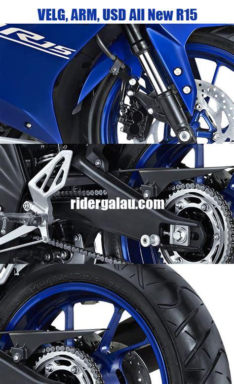 Slider As Roda Depan All New Yamaha R15 harga velg depan belakang arm dan usd yamaha all new r15 vva ridergalau