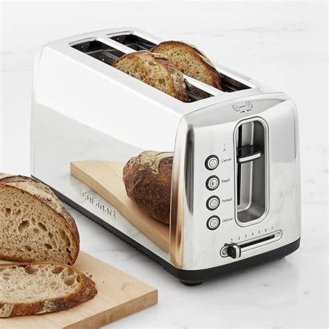 Toaster For Bread Cuisinart The Bakery Artisan Bread Toaster Williams Sonoma