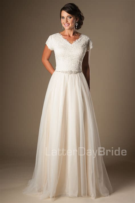 Modest Wedding Dresses : Bayonne
