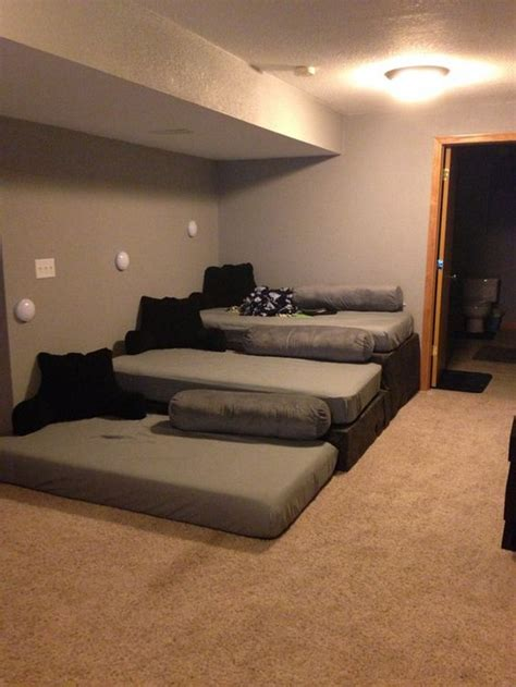 build   home theater seating  pallets