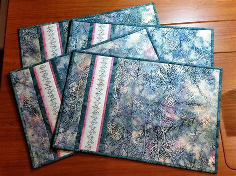 batik placemat pattern batik placemats