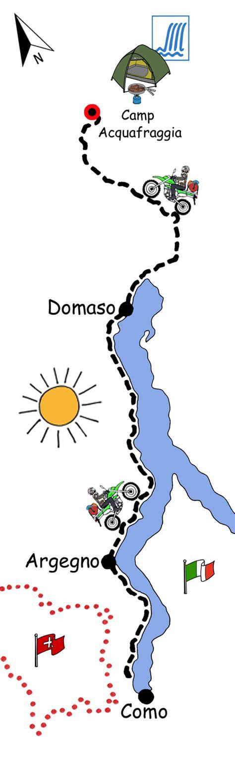 Motorradtour Nach Italien by Motorradreise Italien