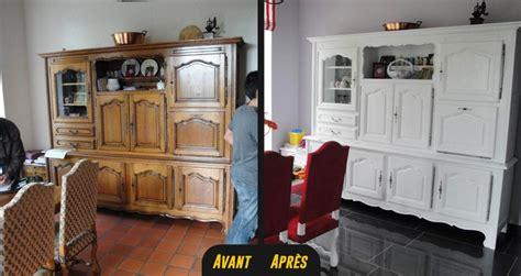 Relooking buffet vaisselier Vannes Rennes Lorient Bretagne