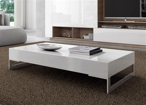 contemporary coffee table otto contemporary coffee table modern coffee tables at