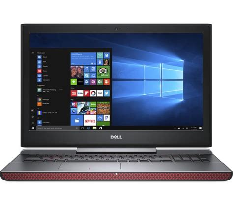 Dell Inspiron 15 Gaming buy dell inspiron 15 7000 15 6 quot gaming laptop black free delivery currys