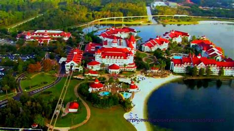 The Walt Disney World Picture of the Day: Grand Floridian Aerial Picture