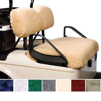 sheepskin golf cart seat covers golf cart seat cover styles fabrics custom or do it