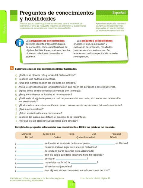 gua santillana 6 grado contestada guia santillana 3 grado primaria pdf download