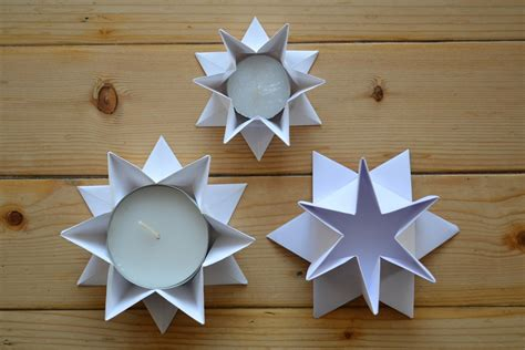 origami kerzenhalter origami fadenspiel und fingerwerk