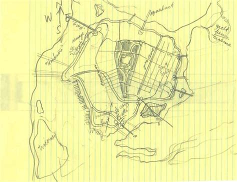 sketch map maker the cartographer who mapped out gotham city arts