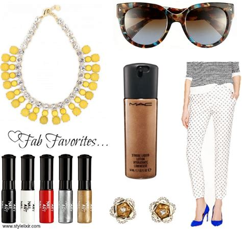 Friday Fashion Favs Mac Fafi Feature by Friday S Fab Favorites Style Elixir