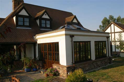 Kitchen Design Essex Rendered Orangery 5b Heritage Orangeries
