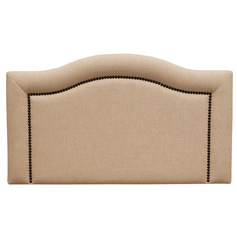 linen headboard king ridge linen natural headboard king