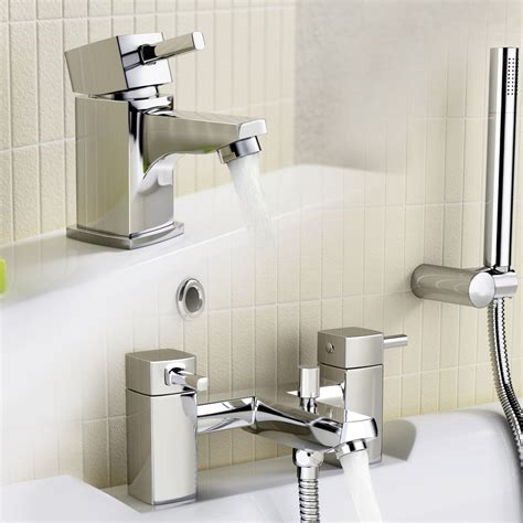taps for sinks and bathrooms bathroom basin sink mixer bath filler shower taps tp67 ebay