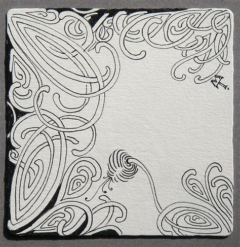 zentangle pattern mooka zentangle mooka