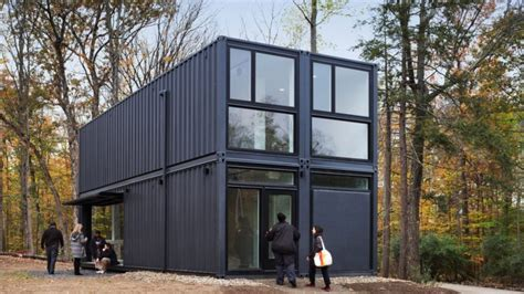 This $200K University Building Is Made of 4 Recycled