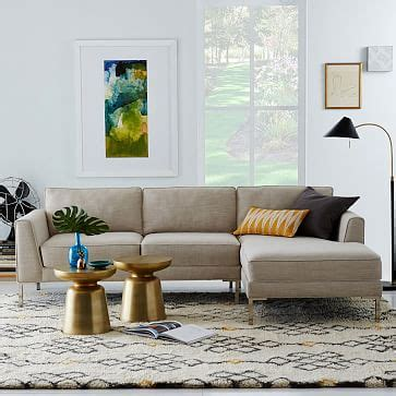 sofa builder build your own portside sectional weathered gray west elm