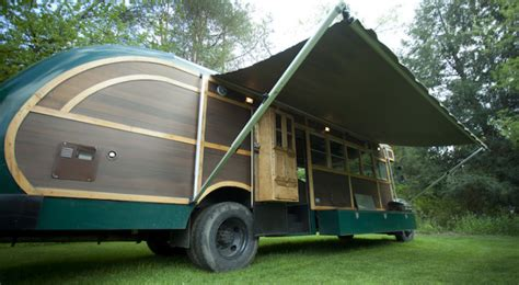 Trailer Awning Man Makes His Own Custom Wooden Truck Camper