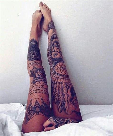 ideas  leg sleeve tattoos  pinterest full leg tattoos leg tattoos  girl