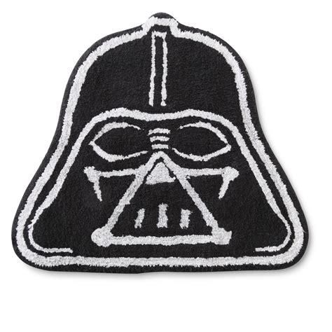 Lucasfilm Star Wars Darth Vader Bath Rug Home Bed Wars Bathroom Rug