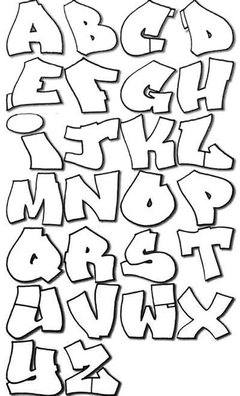 street fonts graffiti alphabets graffiti bubble new graffiti art
