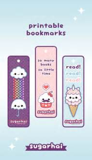 create your own bookmark template make your own kawaii bookmarks with these free printables