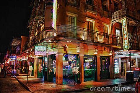 top bars on bourbon street bourbon street new orleans cityscape 35 new orleans