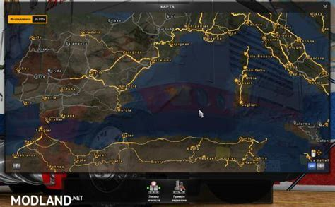 mod map game euro truck simulator 2 maro map 10 2 1 18 1 19 mod for ets 2