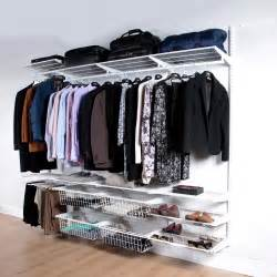 Clothes Storage Systems Classic White Clothes Storage System