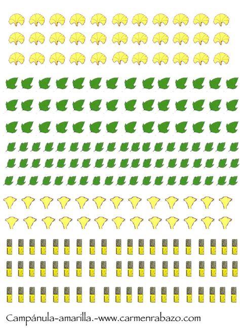 printable miniature leaves c 225 nulas amarilla mis plantas y flores imprimibles
