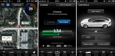 tesla apps appletje eitje tesla model s starten met iphone