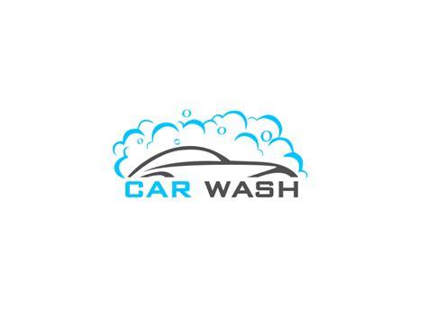Car Wash Logo By Naveen Kumar Dribbble Dribbble Car Wash Logo Template Free