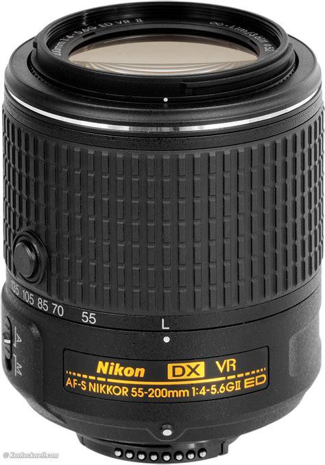 Nikon Af S 55 200mm Vr Ii by Nikon 55 200mm Vr Ii
