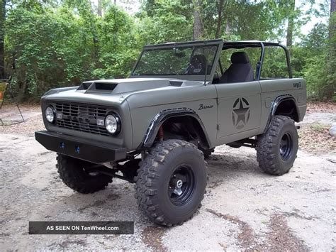 ford military concept bronco body parts 2017 2018 best cars reviews