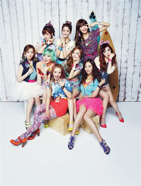 baby baby snsd girls generation promotional pictures from casio baby g