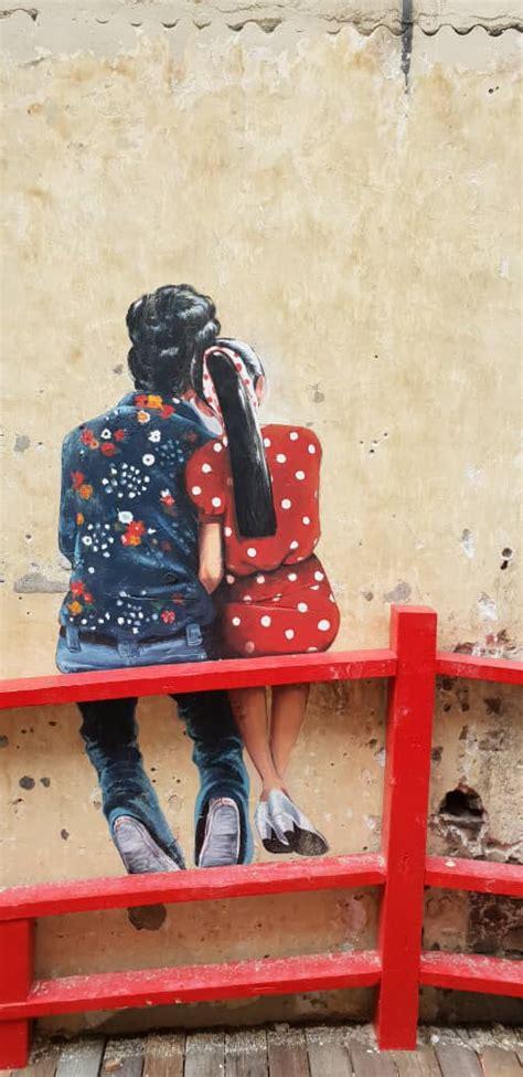 kwai chai hong street art terbaru  jalan petaling