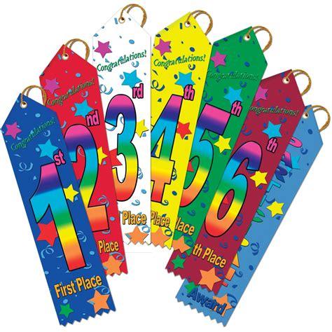 Ribon Top 2 2 quot x 8 quot multicolor stock point top ribbons