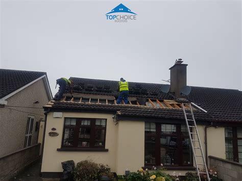 damaged underlay  loose tile repair  dublin roofing