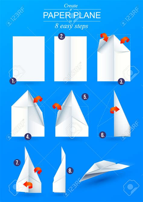 how to make a simple origami paper airplane tutorial