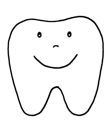 tooth templates free dental health and teeth printable pages and worksheets a